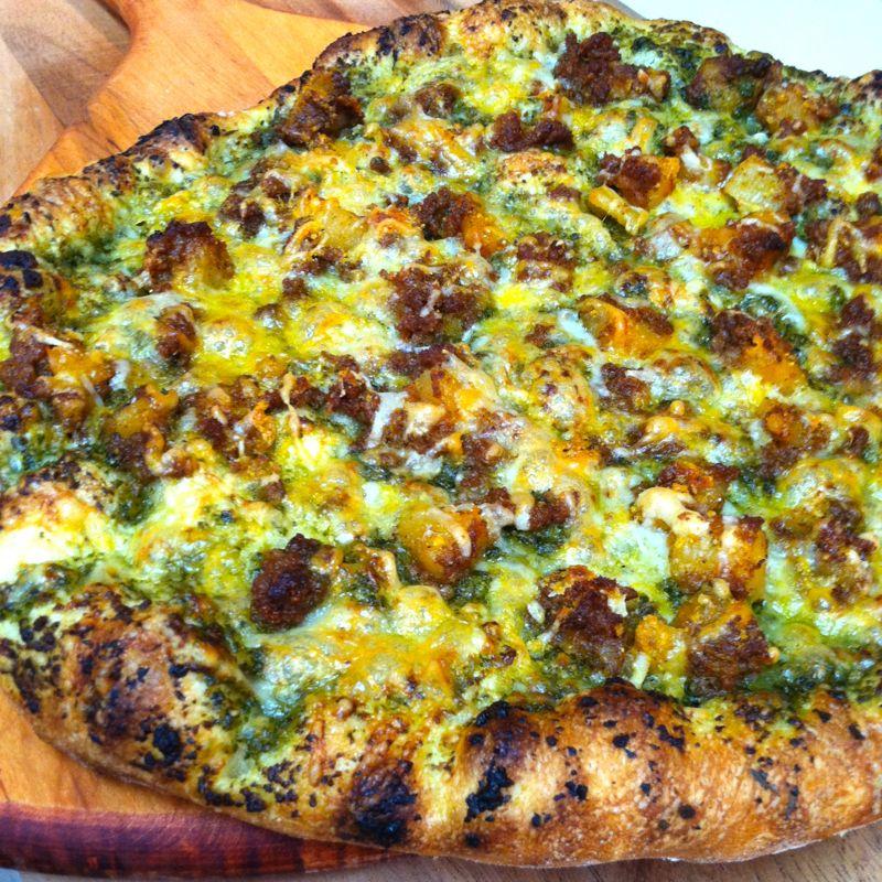 Spicy Chorizo & Cheese Empanadas with Avocado Cream | Lea & Jay