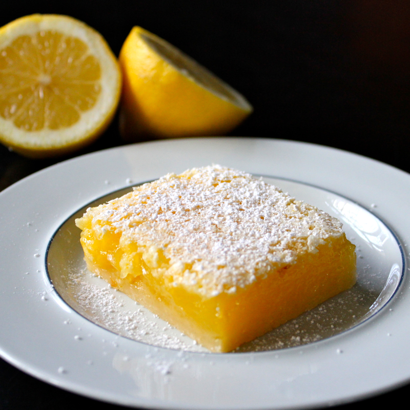 Luscious Lemon Squares for my Valentine | Lea & Jay