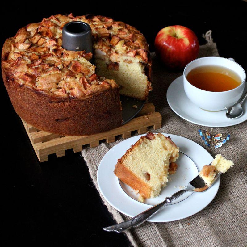 Jewish Apple Cake No Orange Juice