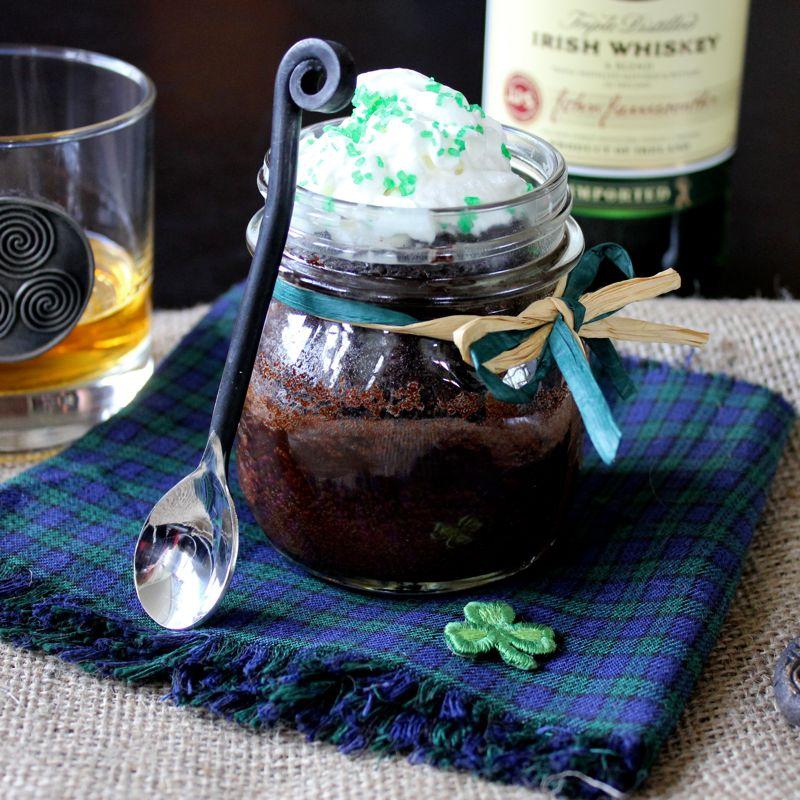 Irish Whiskey Cake With A Butter-Whiskey Glaze