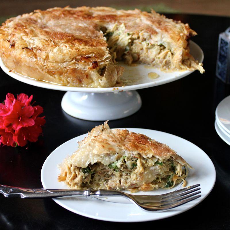 Morrocan-Style Chicken Pie (B'stilla) Recipes — Dishmaps
