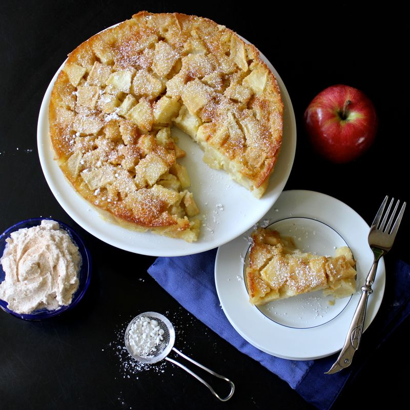 Marie-Helene's Apple Cake | Lea & Jay