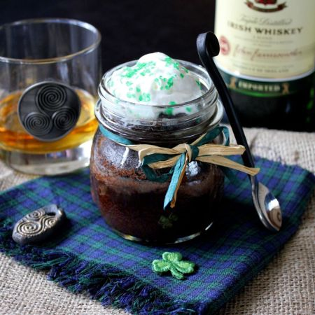 Irish Whiskey Cake with a Butter Whiskey Glaze