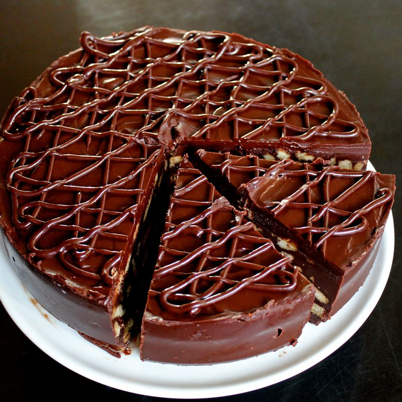Chocolate Biscuit Cake Lea Amp Jay