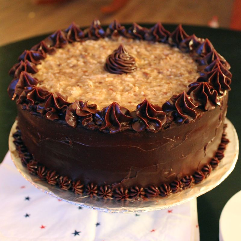German Chocolate Cake Recipe — Dishmaps