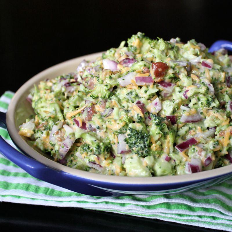 Broccoli Salad | Lea & Jay