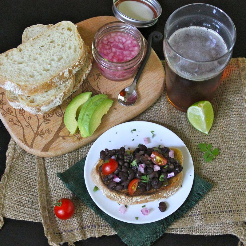 Smitten Kitchen Cookbook slow-cooker black bean ragout | lea & jay