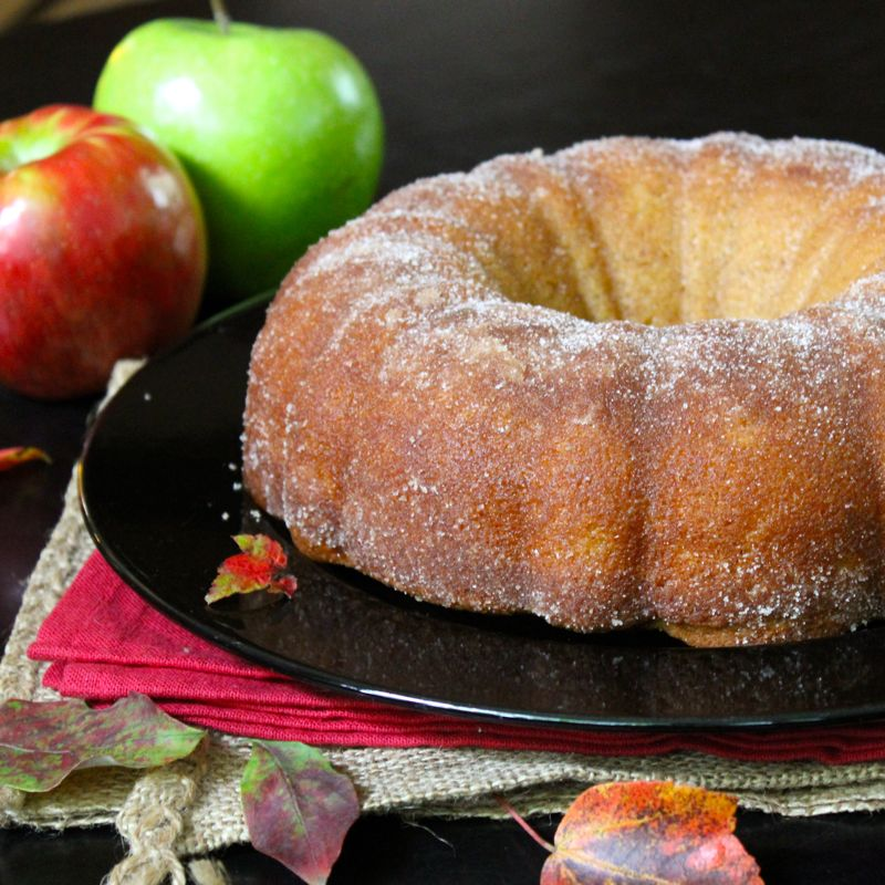 Apple Cider Donut Cake | Lea & Jay