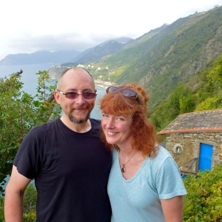 sneak preview ...on the Cinque Terre trail to Manarola