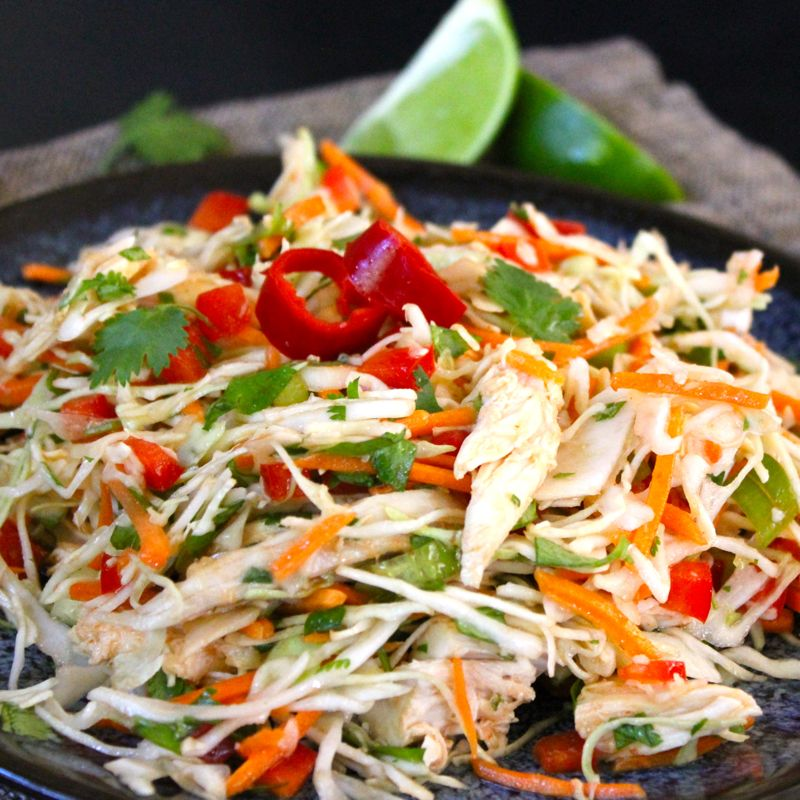 Vietnamese Shredded Chicken Salad