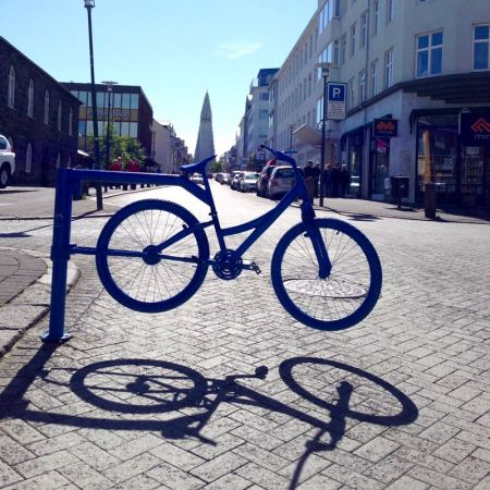 Reykjavik Street view - bike – Version 2