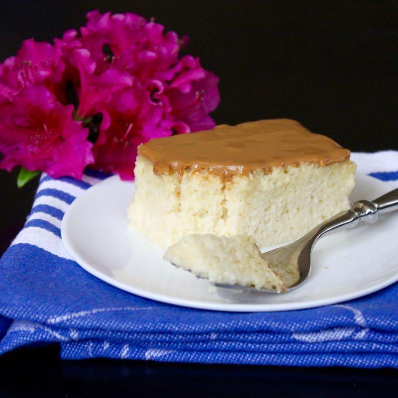 Tres Leches Cake with Dulce de Leche Glaze Lea Jay