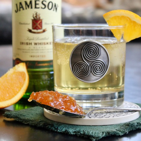 Irish Whiskey Marmalade Cocktail
