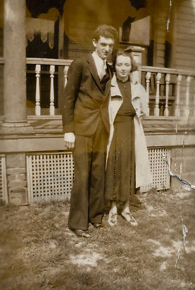 Cecelia and Joseph just before they were married